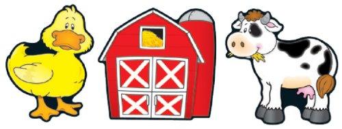 Barns & Farm Animals Cut-Outs