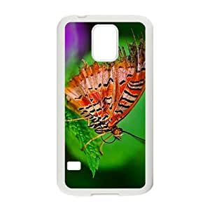 The Butterfly Hight Quality Plastic Case for Samsung Galaxy S5