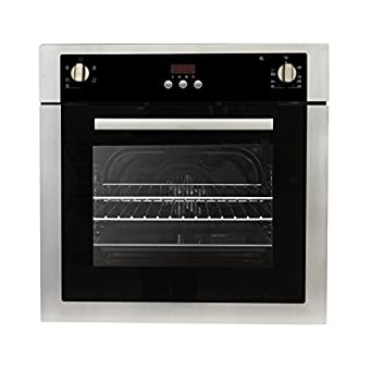 single electric wall oven with convection