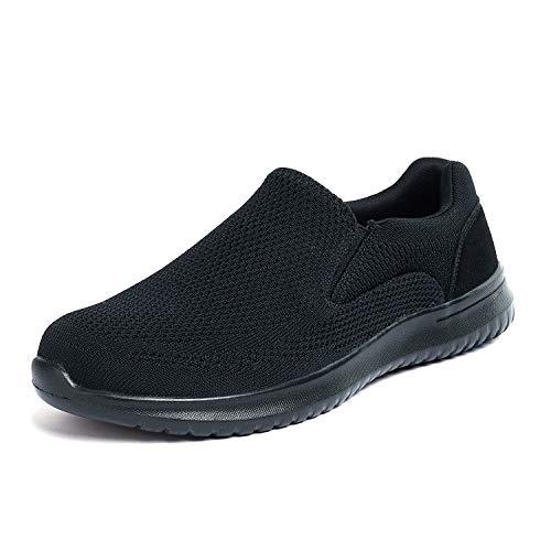 Bruno Marc Men's Slip On Loafer Shoes Mesh Walking Sneakers
