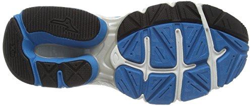 Bleu danube Mizuno De largeur Chaussures Argent Connect Pour Wave Course 2 Femme AwxAvZzq