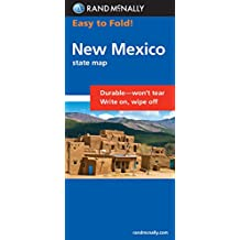 Rand McNally Easy to Fold! New Mexico State Map