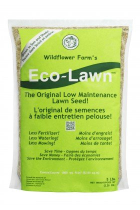 (ECO-LAWN Grass Seed Blend Low Maintenance Lawn - 5lb Bag)