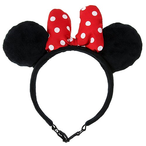 Theme Park Merchandise Minnie Mouse Ears adjustable by Disney Tails (Dog Mickey Mouse Costume)