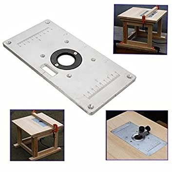 235 x 120 mm x 8 mm aluminum router table insert plate amazon 235 x 120 mm x 8 mm aluminum router table insert plate keyboard keysfo Image collections