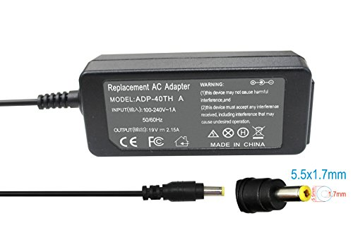 Gomarty 19V 2.15A 40W AC Adapter Charger for Acer Aspire ...