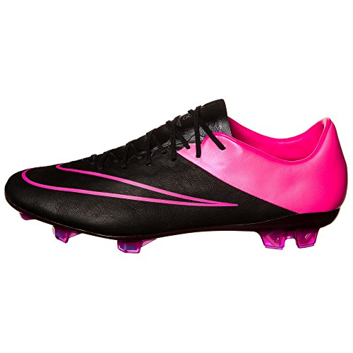 Nike Mercurial Vapor X Lthr FG Herren Fußballschuhe Black