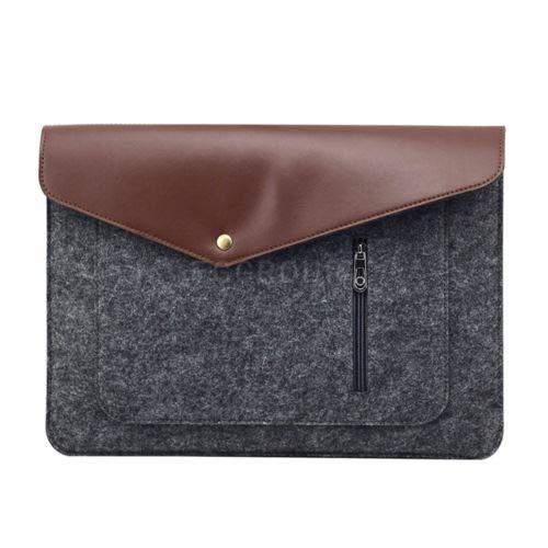 FidgetGear Wool Felt Soft Envelope Pouch Bag Sleeve Case for 10