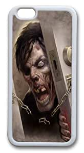 Diy For SamSung Galaxy S5 Mini Case Cover and Cover -Zombie at the Door Hard Soft Case Back Cover Diy For SamSung Galaxy S5 Mini Case Cover White