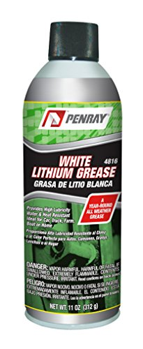 Penray 4816 White Lithium Grease - 11-Ounce Aerosol Can