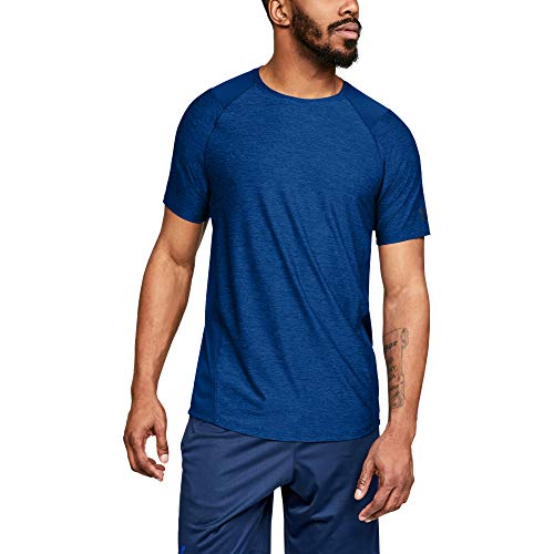 Under Armour Men's MK1 Short Sleeve T-Shirt, Royal (401)/Academy, X-Large (Best Cyber Monday Workout Clothes)
