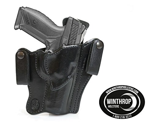 Winthrop Holsters Covert IWB Dual Snap Holster (Ruger American 45 w/ 4 5