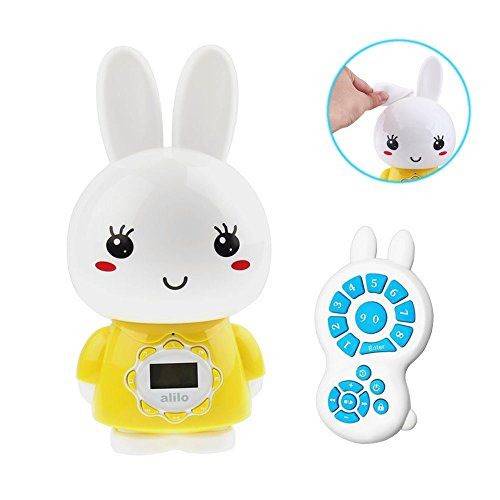 alilo Big Bunny MP3 Player for Kids with Story Song HiFi ...