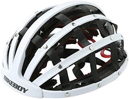 Helmet Bicycle Helmet Folding Helmet Bicycle City Balance Scooter Helmet Men And Women Mountain Bike Riding Helmet Mjzhhx Color White Amazon Ae