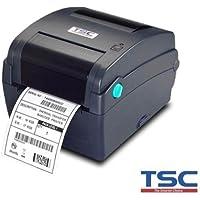 TSC 99-0330036-00LF Series TT034-50 Thermal Transfer Printer, Advance-Navy, 203 dpi Resolution, 4 ips, 4.25 Wide, 5 OD, USB/Parallel/RS-232 Serial Port