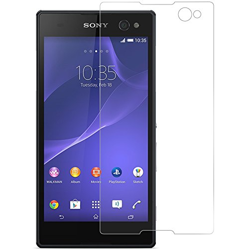 Cell Accessories For Less (TM) Clear LCD Screen Protector for Sony Xperia C3 Bundle (Stylus & Micro Cleaning Cloth) - By (Case Headset Lcd Stylus)