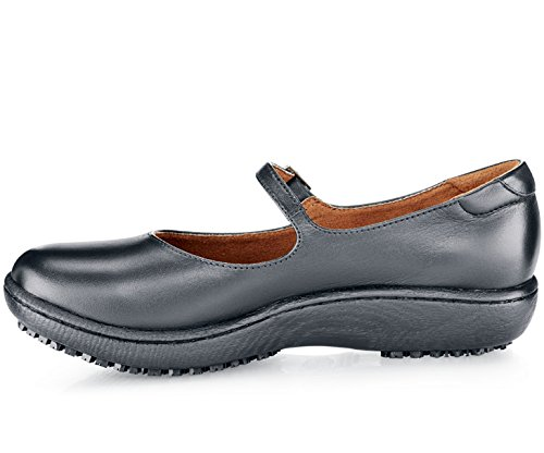 Shoes for Crews 3002 3746.5 MARY JANE II Lederschuhe für Damen, Größe 37 EU, Schwarz