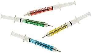 "Lowpricenice 5"" Syringe Pens, 60-Pack"