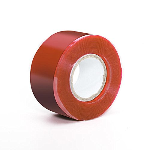 Waterproof Pipe Tape - Waterproof Tape For Pipes - KC-YS8018 Gardening Universal Tape Useful Waterproof Silicone Hose Pipe Wire Repair Tape - Red ( Waterproof Hose Tape ) by Unknown