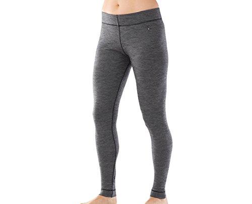 Smartwool Women's NTS Mid 250 Pattern Bottom (Black/Light Gray) X-Large