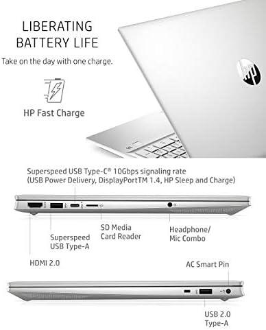 HP PAVILION 15 LAPTOP, 11TH GEN INTEL CORE I5-1135G7 PROCESSOR, 8 GB RAM, 515 GB SSD STORAGE, HD IPS MICRO-EDGE DISPLAY, WINDOWS 10 HOME, COMPACT DESIGN, LONG BATTERY LIFE (15-EG0010NR, 2020)