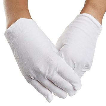 Weiße Baumwolle Handschuhe Borte 20 Paar Weiche Arbeitshandschuhe