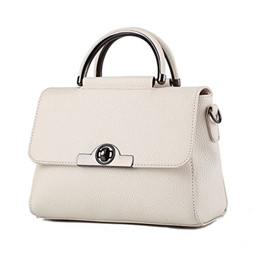 LOMOL Fashion Trendy Elegant Cute Leather Small Tote Top-handle Handbag Shoulder Bag For (Ego Laptop Tote)