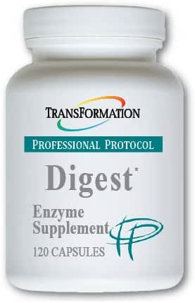 Transformation Enzyme - Digest* Capsules- Supports Overall Digestive and Immune System Health, Aids The Digestion of Lipids to Enhance The Performance of The Pancreas and Liver, (120)