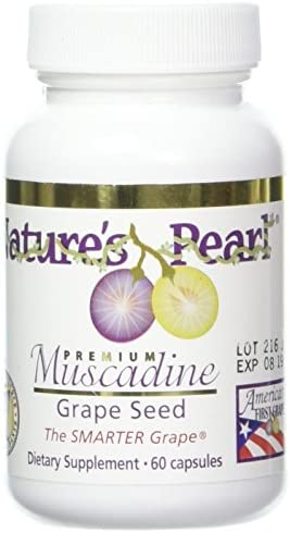N.P. Muscadine Grape Seed 60 capsules, 650mg