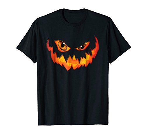 Jackolantern Pumpkin Face Scary Halloween Costume -