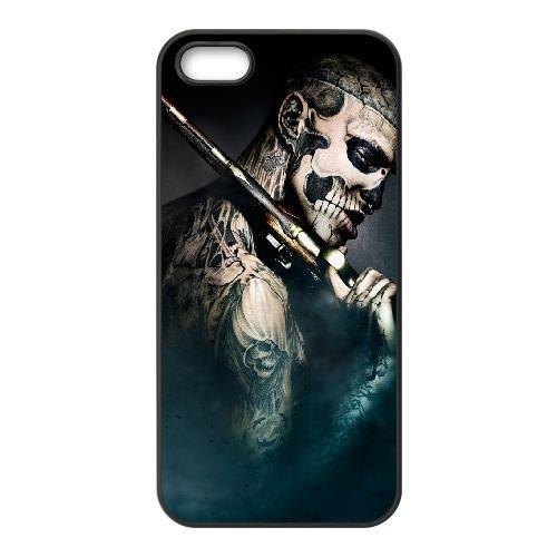 47 Ronin23 coque iPhone 5 5S cellulaire cas coque de téléphone cas téléphone cellulaire noir couvercle EOKXLLNCD21035