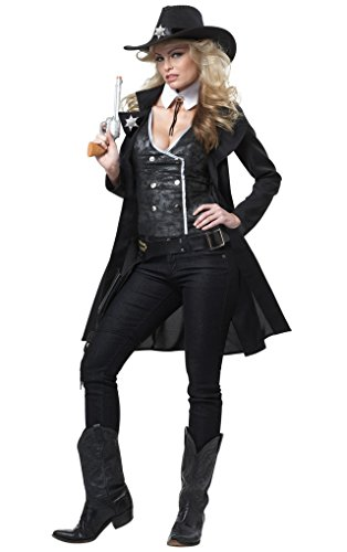 (California Costumes Women Round Em Up Costume, Medium,)
