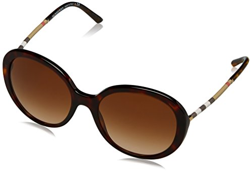 be4239q dark Havana Sonnenbrille Marron browngradient Burberry gZwtt