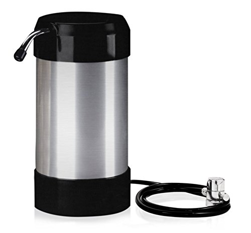 cleanwater4less Countertop Water Filtration System - No Plumbing Water Filter - Faucet Adapter (Water Filter Countertop)