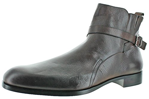 Donald J Pliner Zaccaro Mens Leather Dress Boots Brown