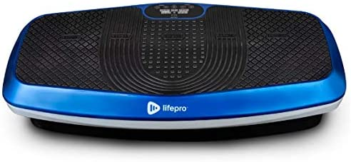 LifePro Hovert 3D Vibration Plate Machine - Dual Motor Oscillation, Lateral 3D Motion Viberation Platform Machine - Full Whole Body Vibrarating Machine for Home Exercise, Fitness Weight Loss