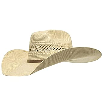 8f17501e921 Image Unavailable. Image not available for. Color  Atwood Abilene Low Crown  Straw Cowboy Hat
