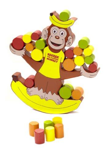 Blue Orange Games Keekee The Rocking Monkey Award Winning Wooden Skill Building Balancing Game for Kids