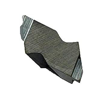 Pack of 10 0.094 Groove Depth CM14 Grade Cobra Carbide 46746 Solid Carbide Grooving Insert Notched Style