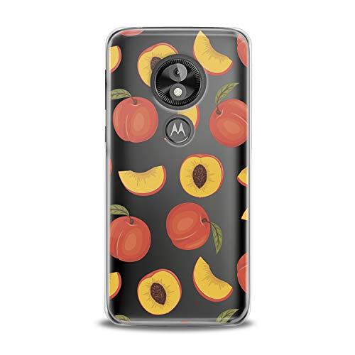 Lex Altern TPU Case Motorola Moto G7 One P30 Play Note Z3 G6 E5 Plus Peach Clear Fruit Cute Pattern Phone Flexible Girl Teen Cover Kids Cool Print Transparent Protective Lightweight Women Silicone
