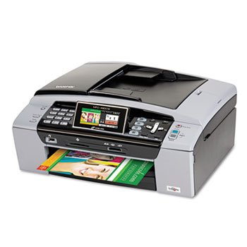 Brother® MFC-490CW Inkjet Multifunction with Wireless Networking PRINTER,MFC490CW,MULTI FN (Pack of 2)