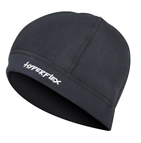 Hyperflex Wetsuits Unisex Cap (Black, Large) - Surfing, Windsurfing & - Wetsuit Hats