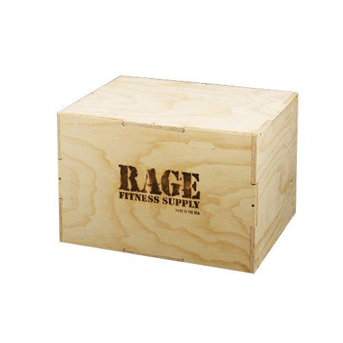 Rage Wood Cube Plyo Box 20' X 24' X 30', Brown