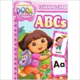 Dora the Explorer ABCs 36 Learning Game Cards