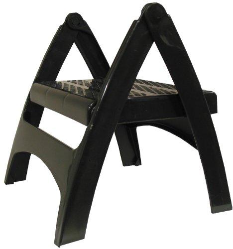037063102105 - Adams Manufacturing 8530-02-3730 Quik-Fold Step Stool, Black carousel main 1
