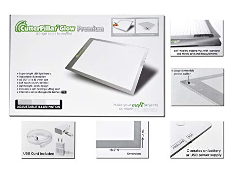 - CutterPillar CPP-PREM Glow Premium LED Light Board