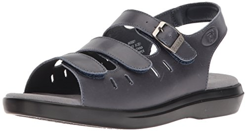 (Propet Women's Breeze Walker Sandal, Blue, 11 X-Wide)