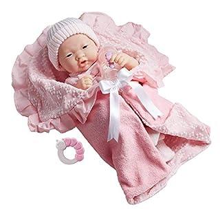 Soft Body La Newborn in Bunting and Accessories. Asian.