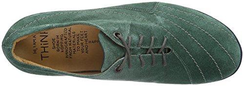 Think! Nubessa - Zapatillas para hombre Verde