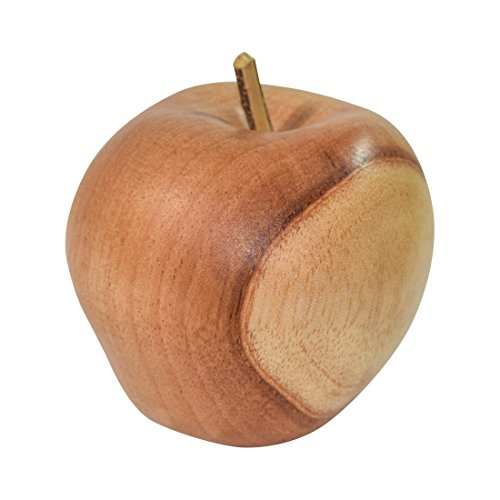 Apple Rustic (Rustic Wood Granny Smith Style Apple Handmade by Hide & Drink :: Cedro)